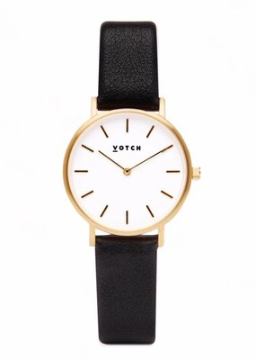 Votch Vegane Uhr - The Black and Gold Petite