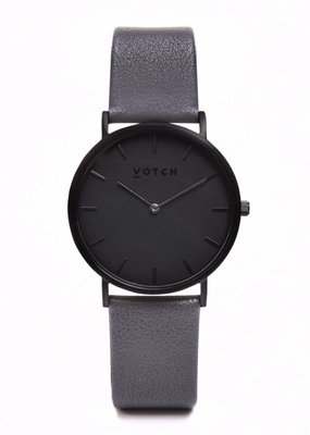 Votch Vegane Uhr - The Dark Grey Classic