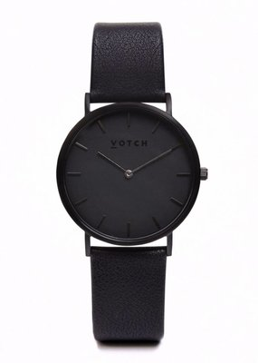 Votch Vegane Uhr - The All Black Classic