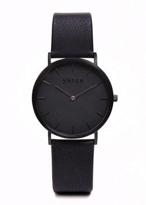 Votch Vegane Uhr - The All Black Classic