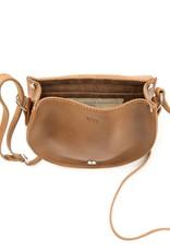 Umhängetasche Saddle Bag / kastanienbraun