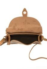 Will's Vegan Shoes Umhängetasche Saddle Bag / kastanienbraun