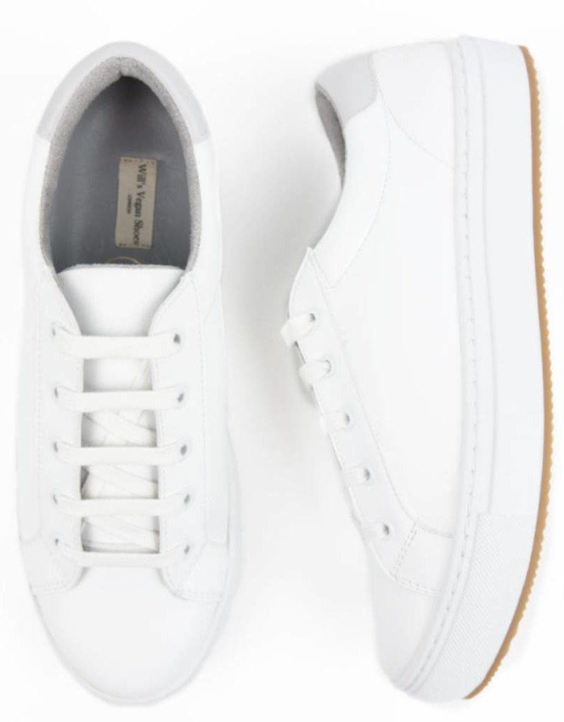 Will's Vegan Shoes Ldt Turnschuh NY Trainers / weiss