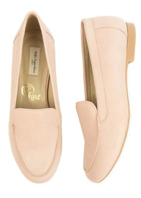 Will's Vegan Shoes Damenslipper Loafer / pink