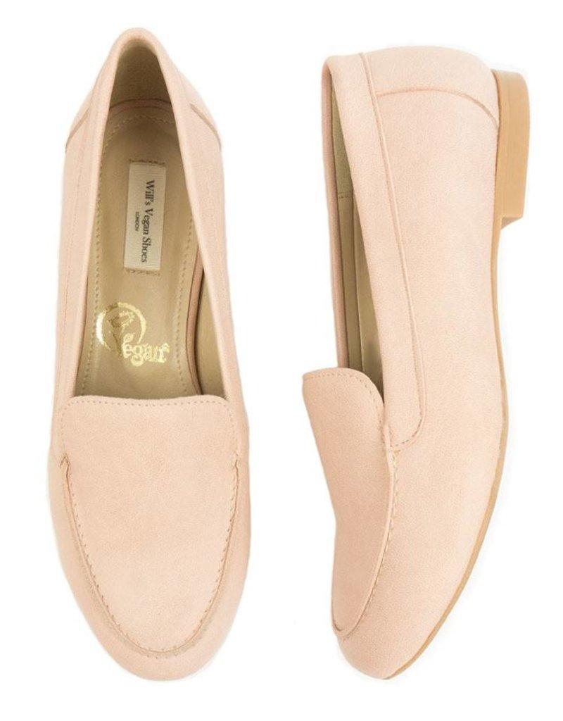 Will's Vegan Shoes Ldt Damenslipper Loafer / pink