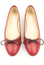Will's Vegan Shoes Ballerina / rot