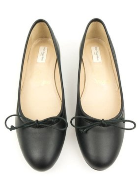 Will's Vegan Shoes Ballerina / schwarz