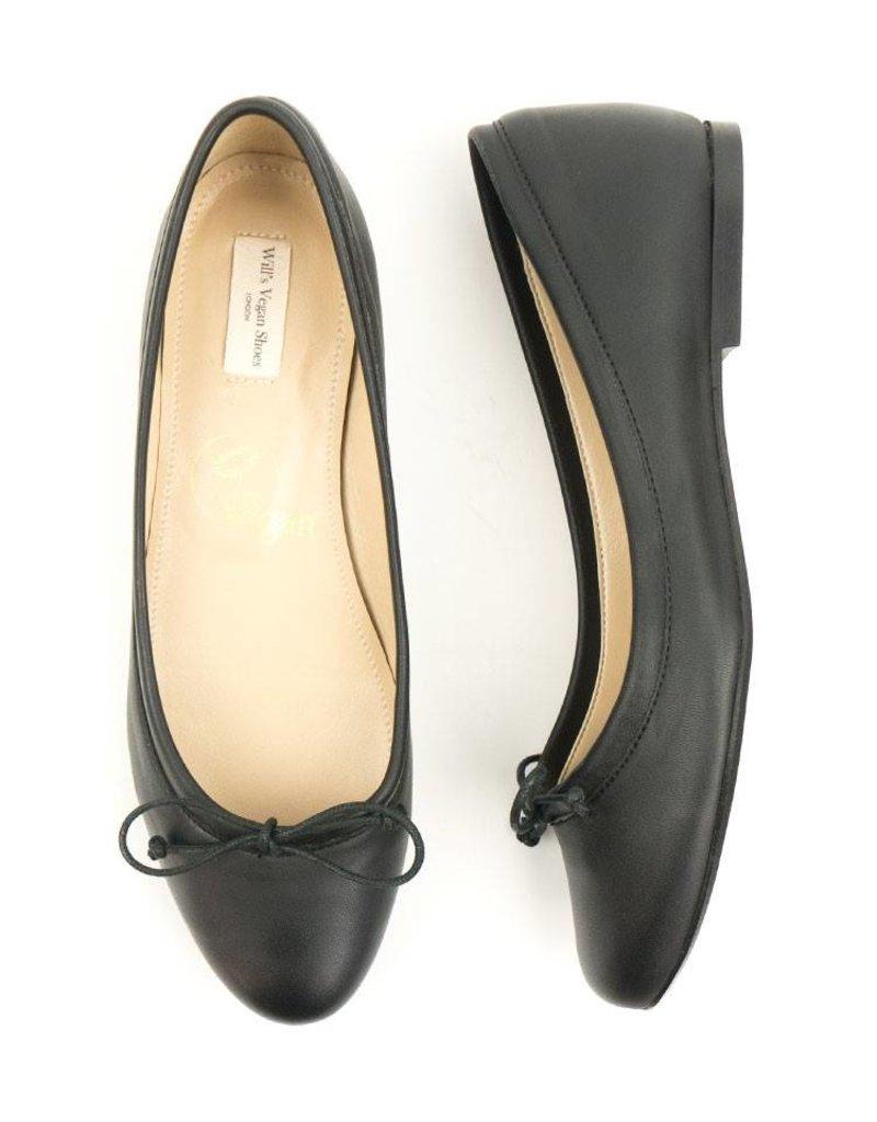 Will's Vegan Shoes Ldt Ballerina / schwarz