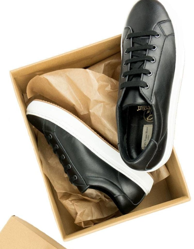 Will's Vegan Shoes Turnschuh Smart Sneakers / schwarz