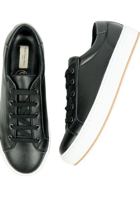 Will's Vegan Shoes Turnschuh Smart Sneakers / schwarz