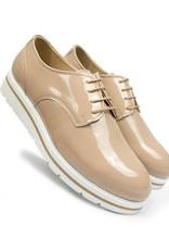 Will's Vegan Shoes Ldt Halbschuh Flatform Laceups / sand
