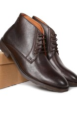 Will's Vegan Shoes Stiefel Chukka Boots / dunkelbraun
