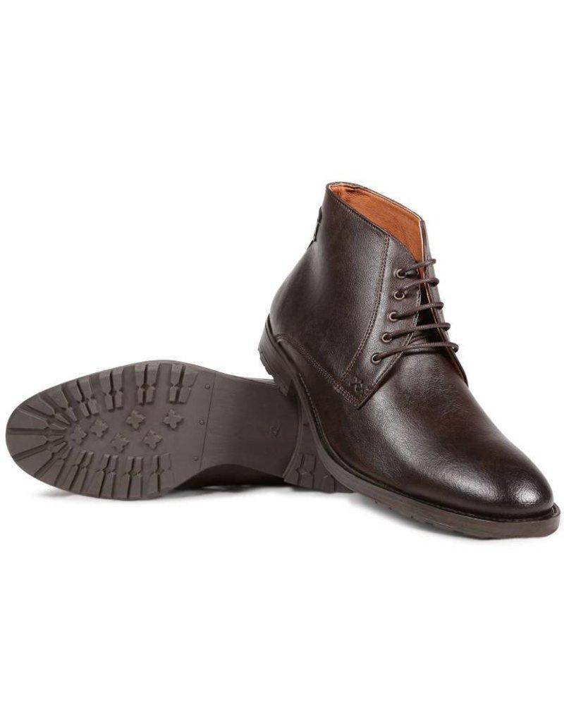 Will's Vegan Shoes Ldt Stiefel Chukka Boots / dunkelbraun
