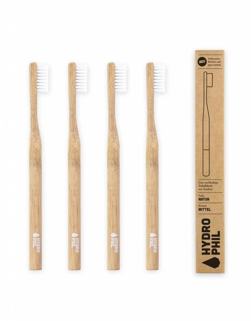 Hydrophil Nachhaltige Zahnbürste aus Bambus - mittelweich