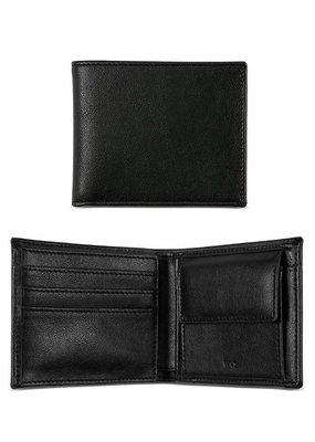 Will's Vegan Shoes Ldt Herrenbrieftasche mit Münzfach / schwarz