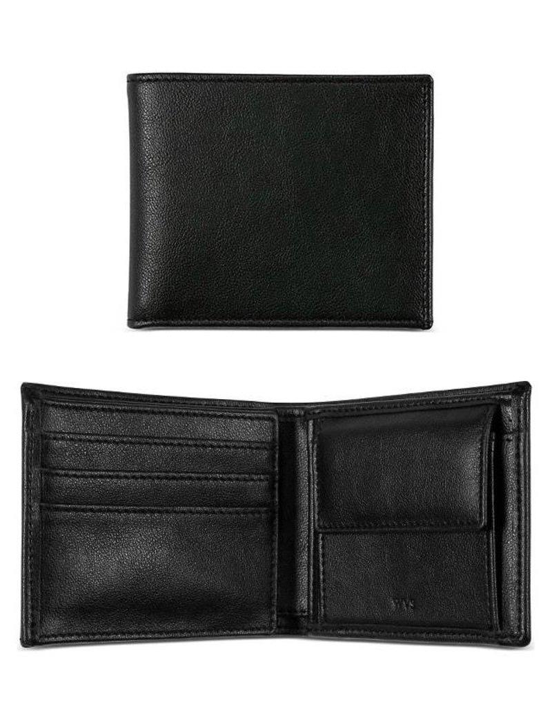 Herrenbrieftasche mit Münzfach / schwarz