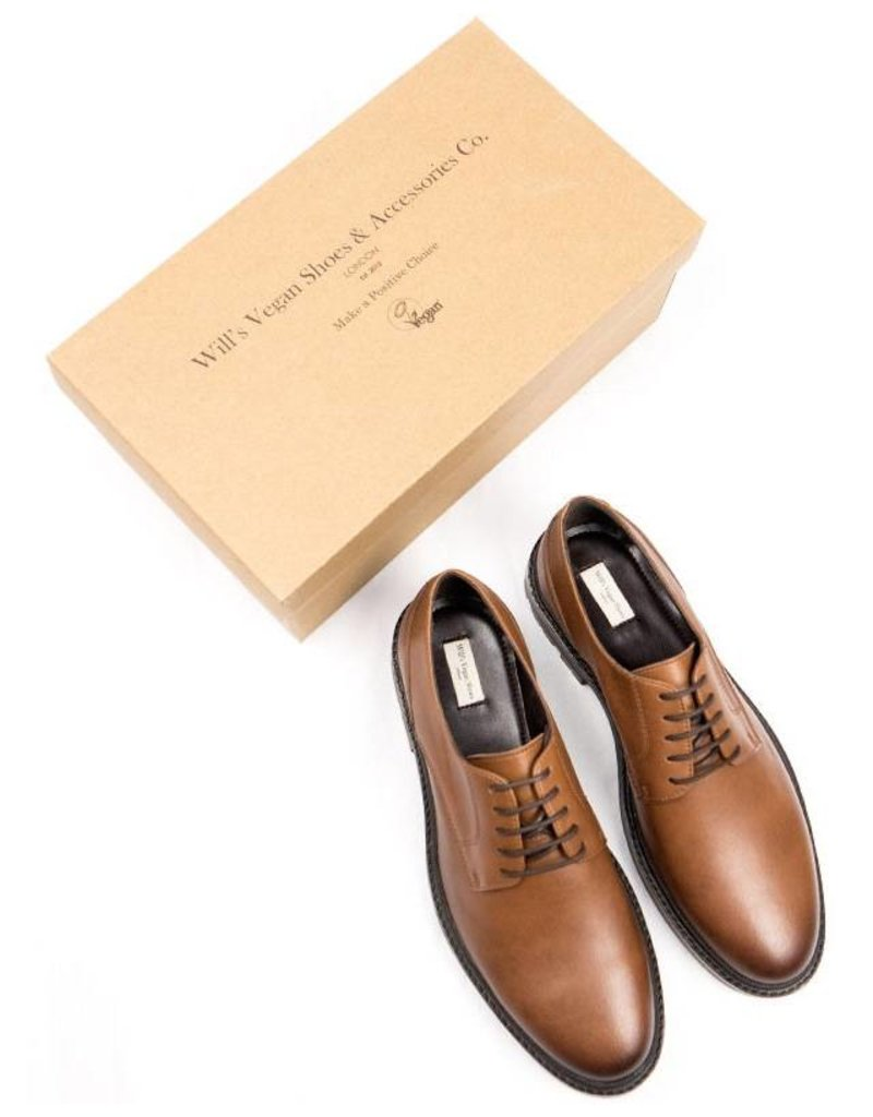 Will's Vegan Shoes Ldt Schnürschuh Continental Derbys / braun