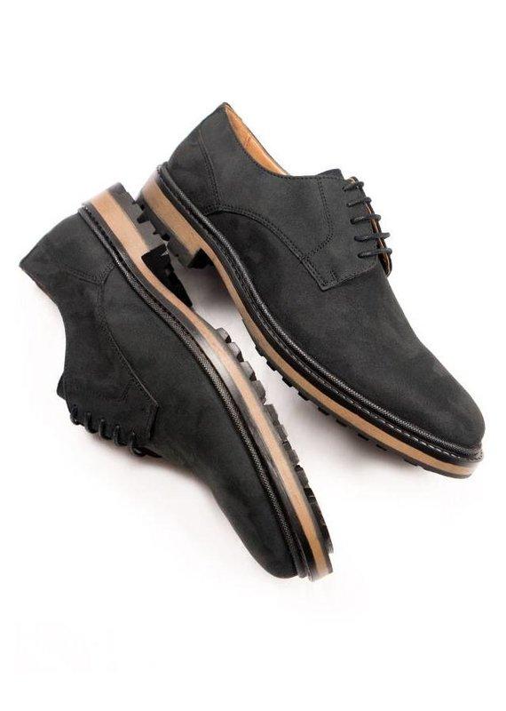 Will's Vegan Shoes Schnürschuh Continental Derbys / schwarz