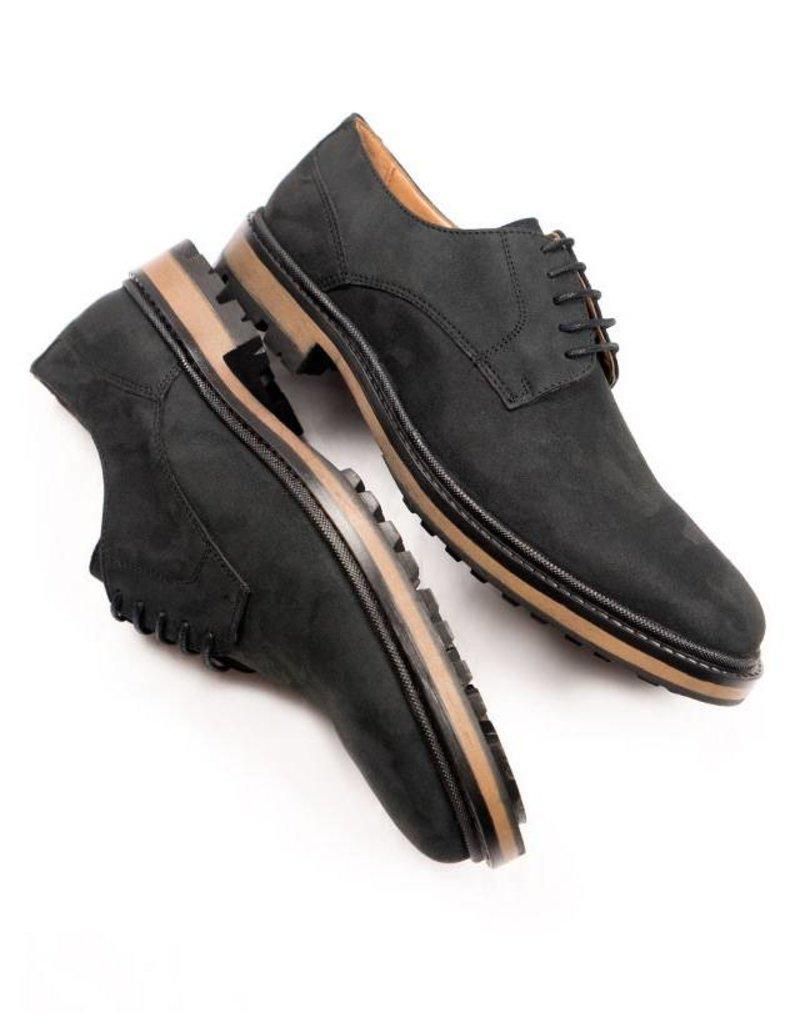 Will's Vegan Shoes Ldt Schnürschuh Continental Derbys / schwarz
