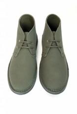 Will's Vegan Shoes Stiefel Canvas Desert Boots / olivgrün