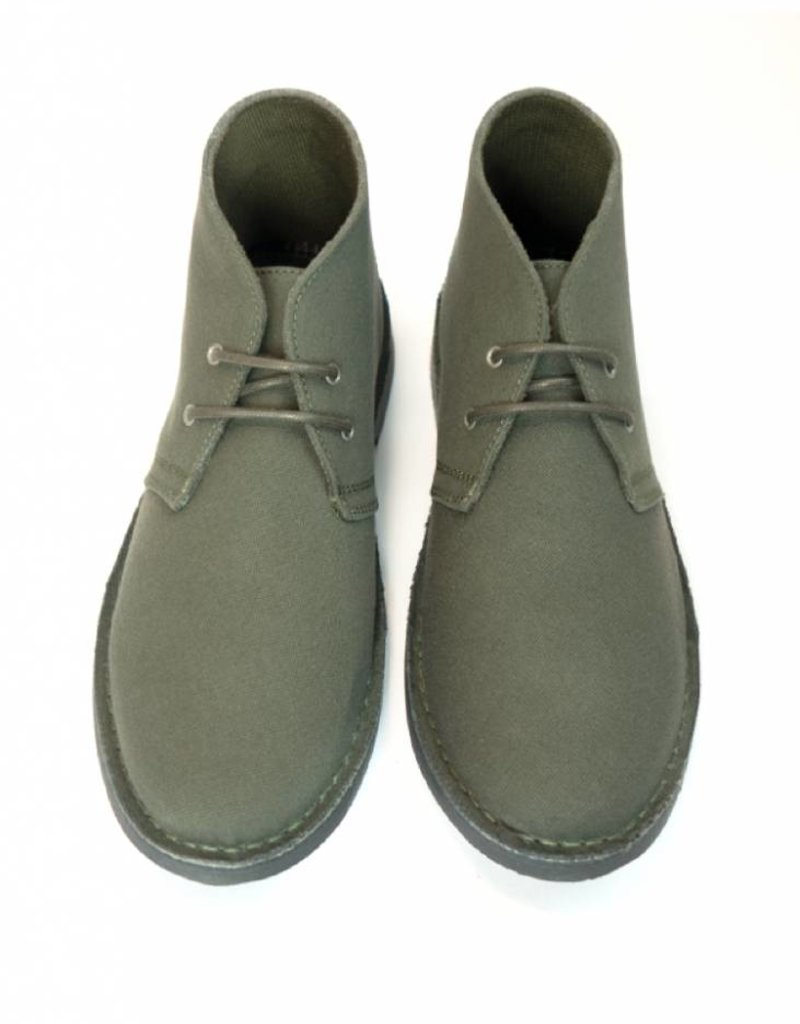 Stiefel Canvas Desert Boots / olivgrün