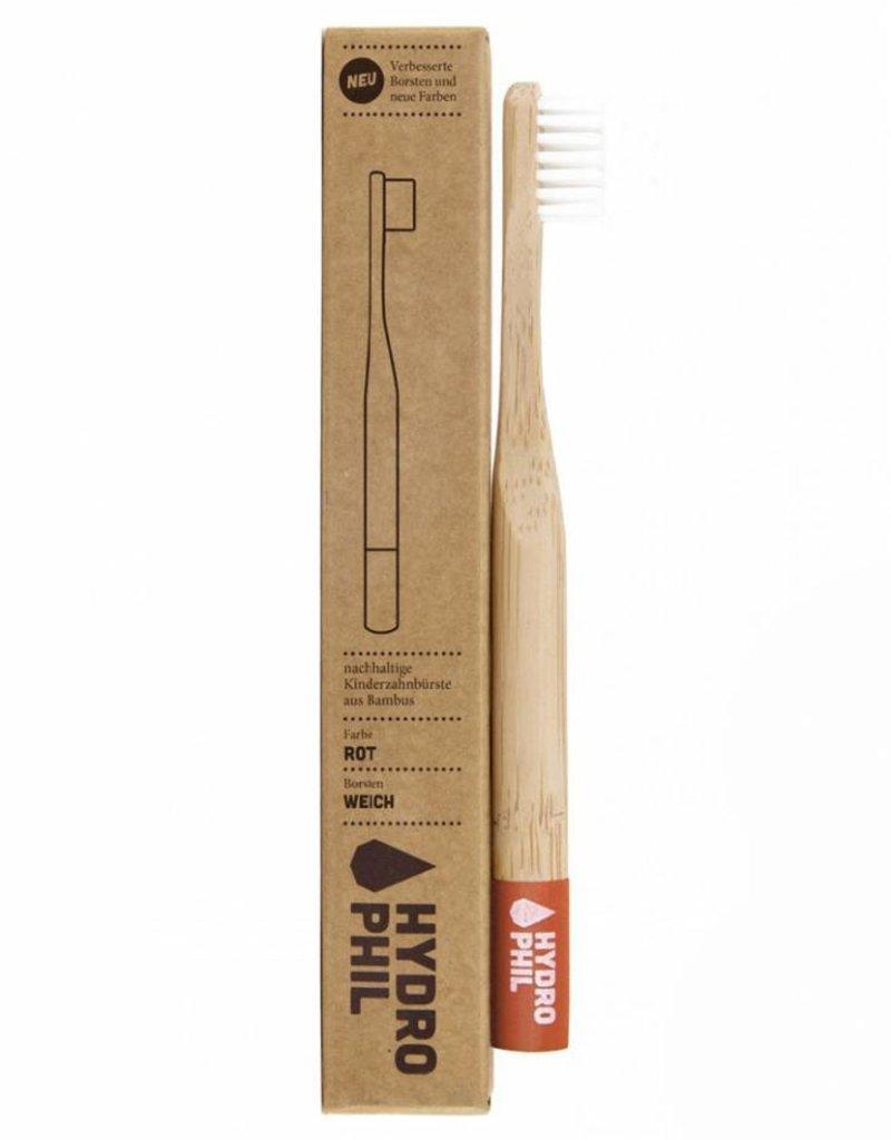 Hydrophil Nachhaltige Zahnbürste aus Bambus für Kinder - extraweich