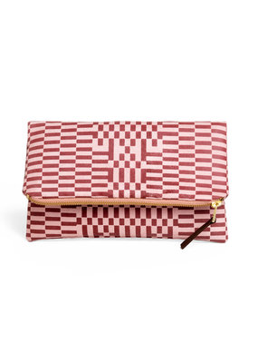 Lee Coren Faltbare Clutch / rose