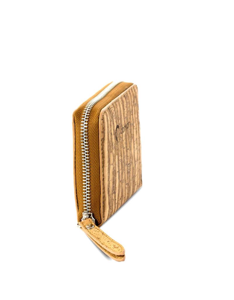 Corkor Kork Brieftasche für Damen klein - RFID SAFE