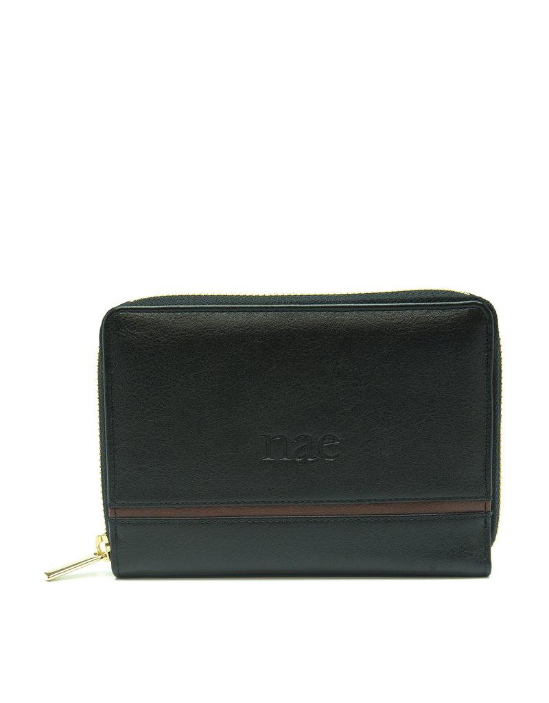 Brieftasche für Damen / schwarz
