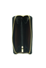NAE Vegan Shoes Brieftasche für Damen / schwarz