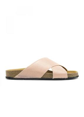 NAE Vegan Shoes Pantoletten Re-Car / pink