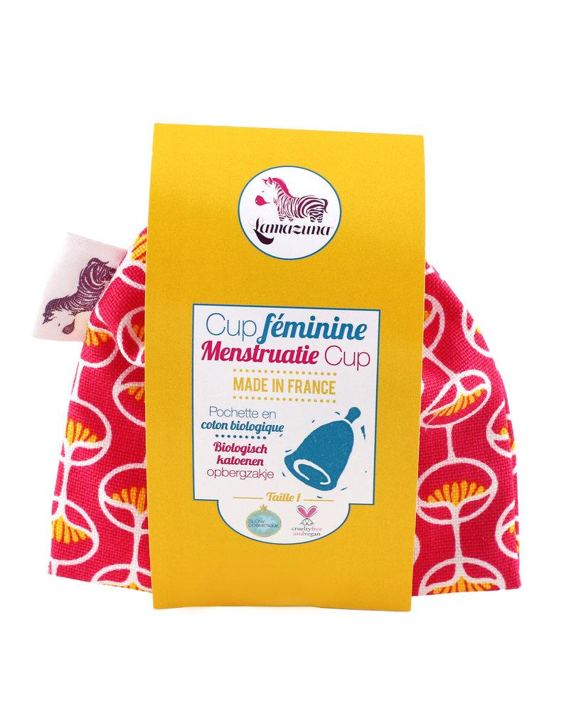 Lamazuna Menstruationstasse - Pink (Grösse 1)