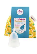 Lamazuna Menstruationstasse - Gelb (Grösse 2)