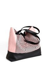 Lee Coren Shopper Dérive Tote Bag / rose