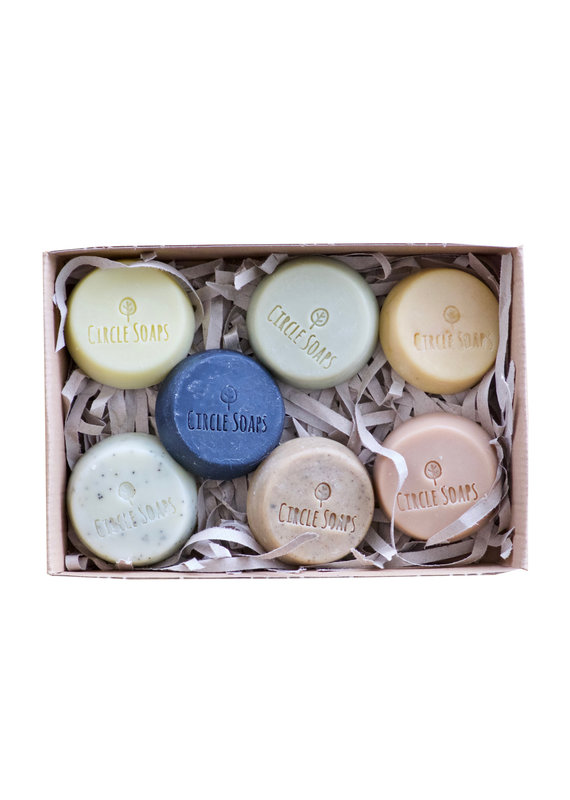 """Circle Soaps Seifenset """"The Sample Collection"""""""