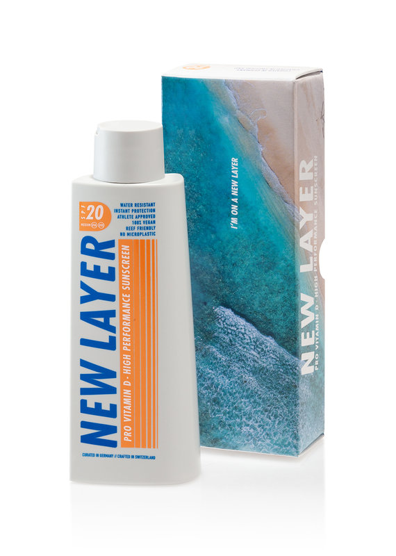 New Layer Sonnencreme LSF20 - 200 ml
