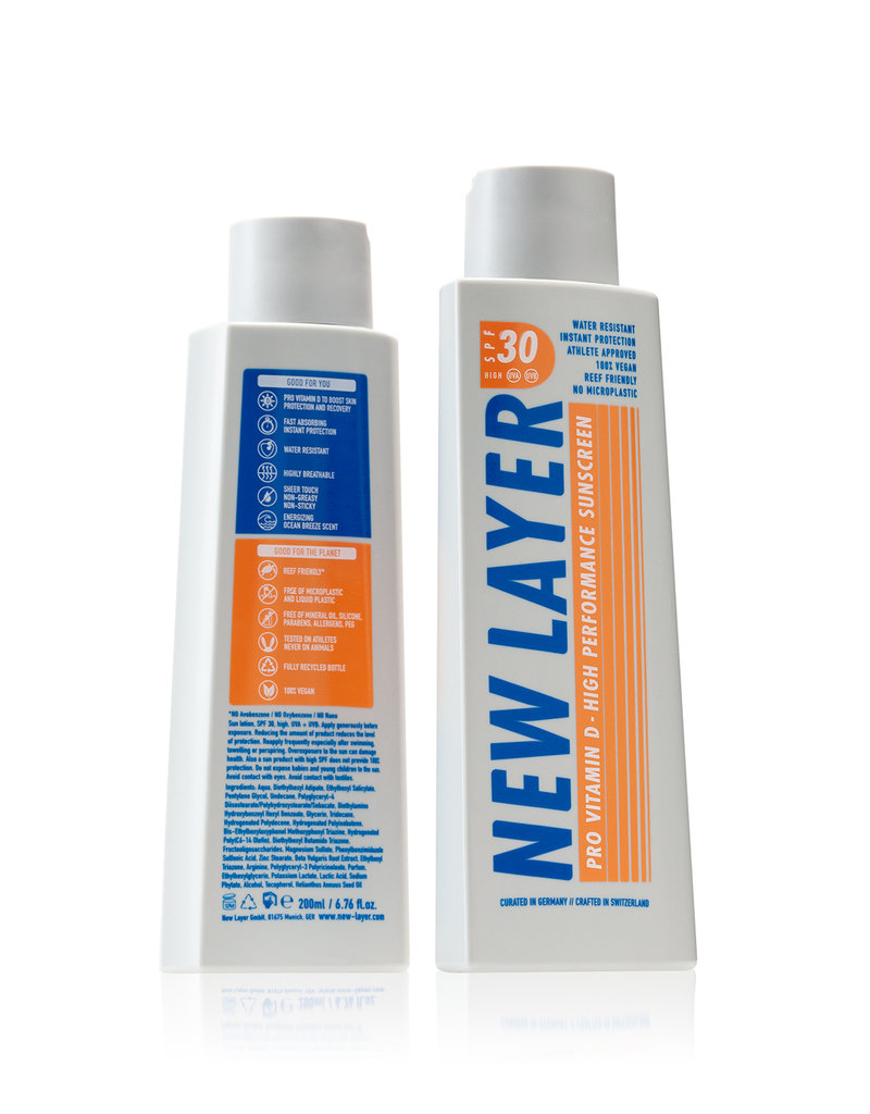New Layer Vegane Sonnencreme LSF30 - 200 ml
