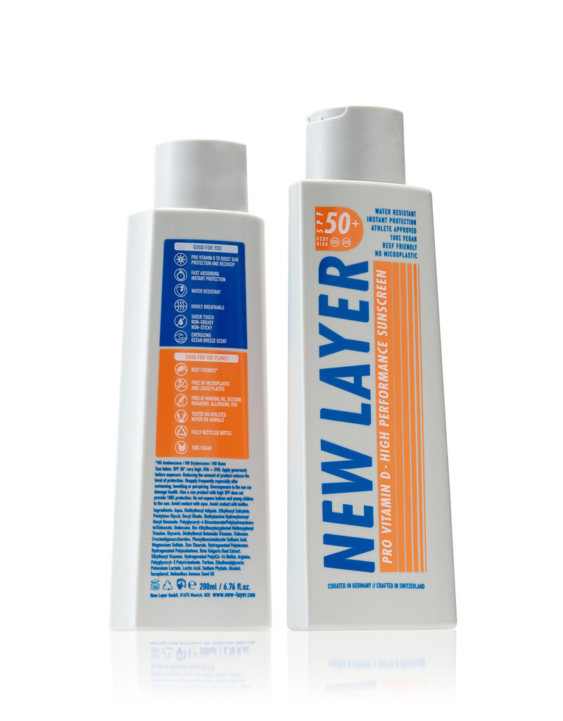 New Layer Vegane Sonnencreme LSF50 - 200 ml