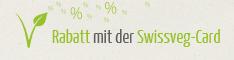 5% SwissVeg Rabatt