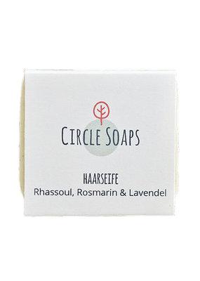 Circle Soaps Haarseife - Rhassoul, Rosmarin & Lavendel