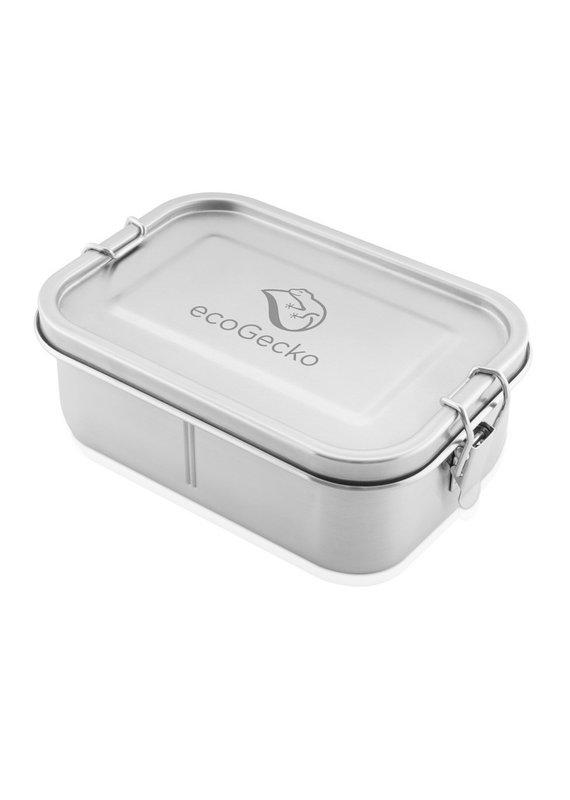 ecoGecko Brotdose aus Edelstahl, 800 ml