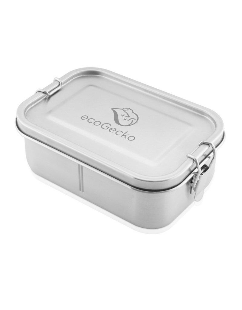 ecoGecko Auslaufsichere Brotdose aus Edelstahl, 800 ml