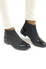NAE Vegan Shoes Vegane Damen Stiefeletten Lorena / schwarz