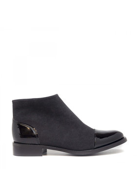 NAE Vegan Shoes Damen Stiefeletten Lorena / schwarz