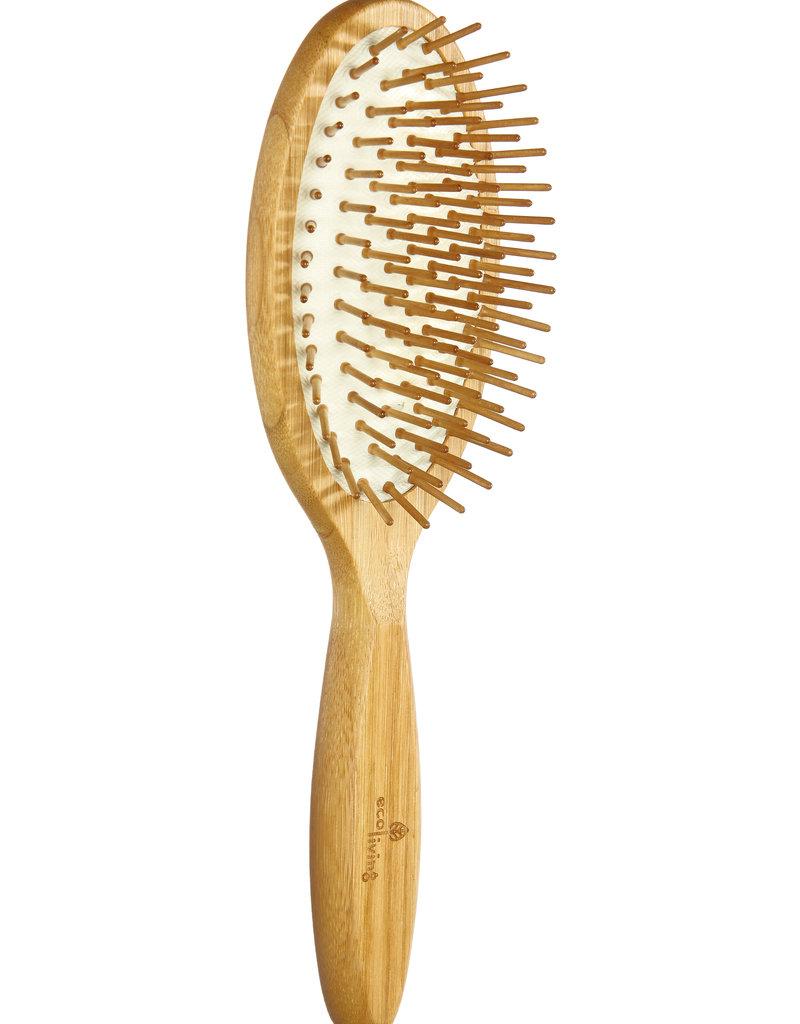 eco Living Plastikfreie Haarbürste aus Bambus