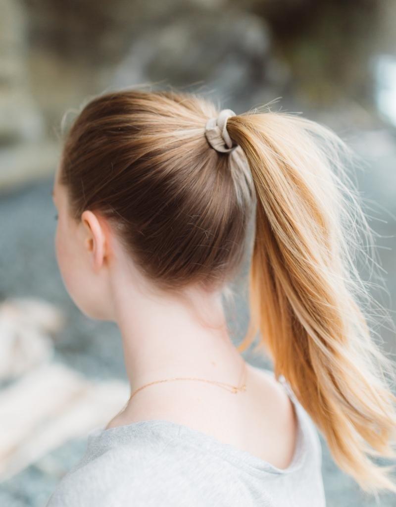 KOOSHOO Plastikfreie Haargummis 5-er Pack / blond