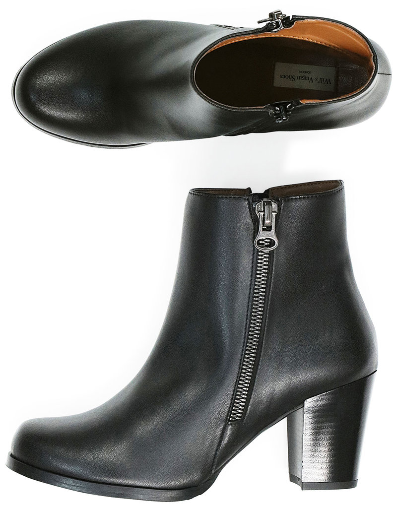 Will's Vegan Shoes Vegane Stiefelletten / schwarz