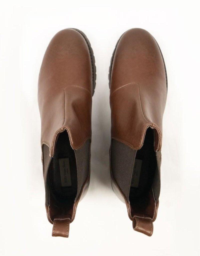 Will's Vegan Shoes Damen Chelsea Boots / braun