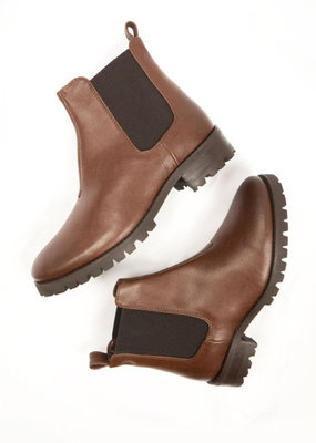 Will's Vegan Shoes Damen Chelsea Boots / braun