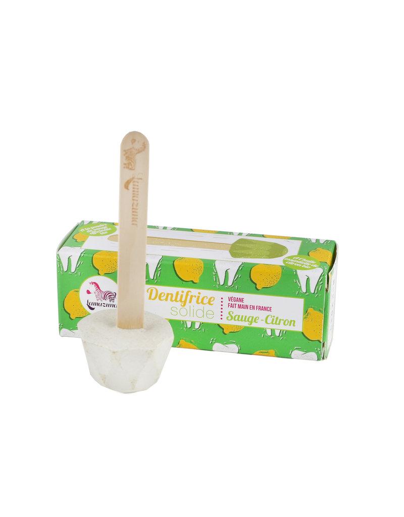 Lamazuna Feste Zahnpasta am Stiel Salbei-Zitrone